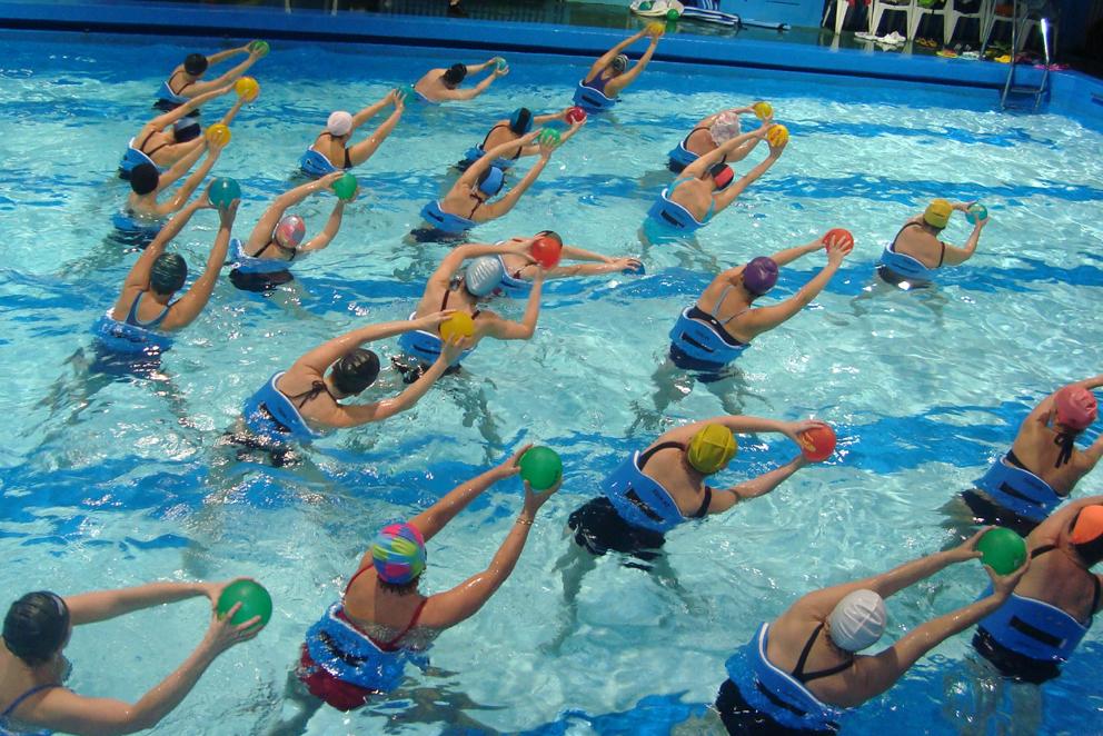 Contratación monitor deportivo Aquaerobic
