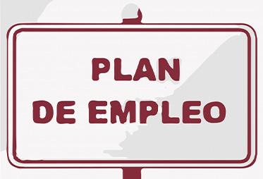 ANUNCIO PLAN DE EMPLEO CONVOCATORIA 2021